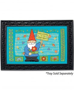 Welcome to the Garden Gnome Doormat