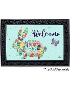 Happy Easter Bunny Welcome Doormat