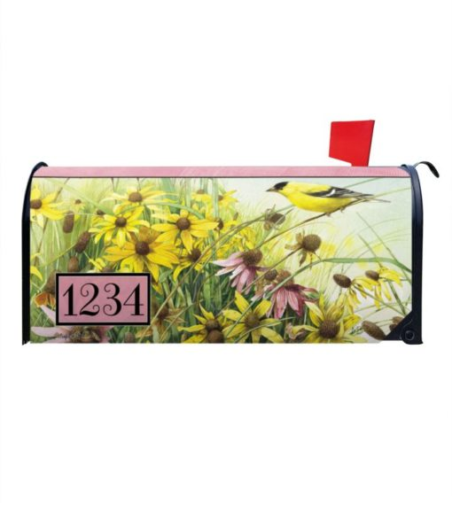 Meadow Paradise Personalized Photo Magnetic Mailbox Cover