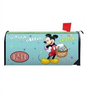 Mickey Hip Hop Hurray Easter! Magnetic Mailbox Cover