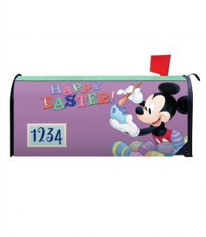 Mickey Happy Easter Magnetic Mailbox Cover