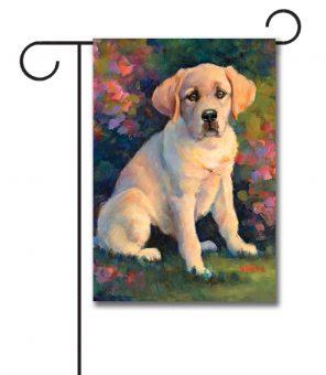Puppy Love - Garden Flag - 12.5'' x 18''