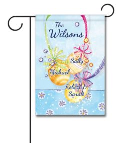 Personalized Easter Ornaments  - Garden Flag - 12.5'' x 18''