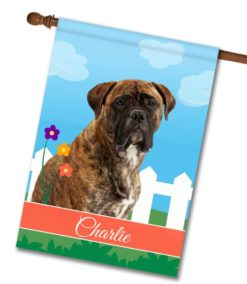 Personalized Spring Mastiff - House Flag - 28'' x 40''