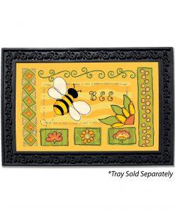 Springtime Bee Doormat