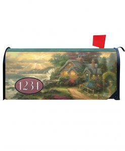 A New Day Dawning Magnetic Mailbox Cover