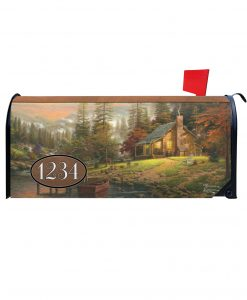 Peaceful Retreat Magnetic Mailbox Cover
