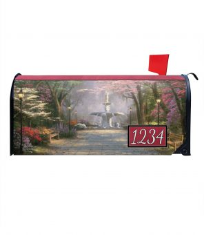Savannah Romance Magnetic Mailbox Cover