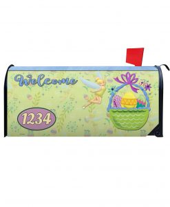 Tinker Bell Easter Sparkle Magnetic Mailbox Cover