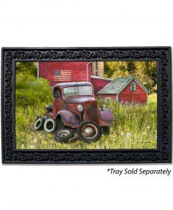 Vintage Farm Truck Doormat