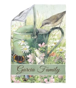 Personalized Souvenirs Floral Meadow - Blanket - 40'' x 57''
