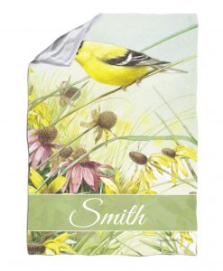 Personalized Meadow Paradise - Blanket - 40'' x 57''