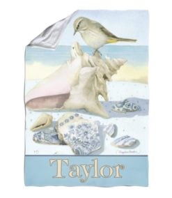 Personalized Beach Treasures - Blanket - 40'' x 57''