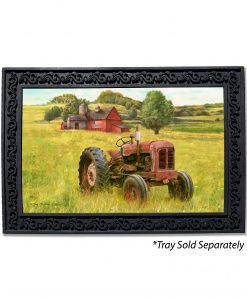 Rustic Brown Tractor Doormat