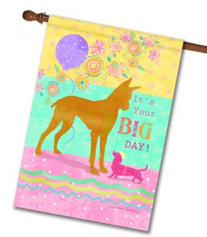 It's Your Big Day - House Flag - 28'' x 40''
