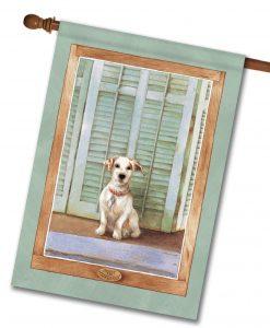 Dog Watcher - House Flag - 28'' x 40''