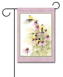 Spring Flight - Garden Flag - 12.5'' x 18''