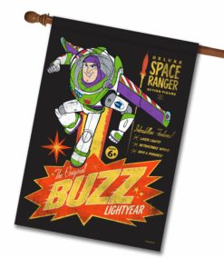 Original Buzz Lightyear - House Flag - 28'' x 40''