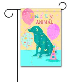 Party Animal - Garden Flag - 12.5'' x 18''