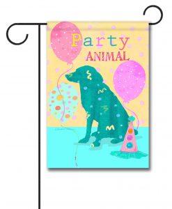 Party Animal - Garden Flag - 12.5'' x 18''