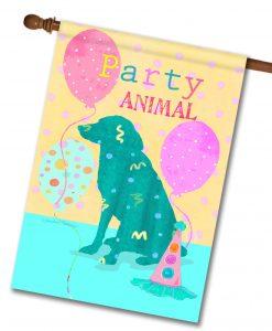 Party Animal - House Flag - 28'' x 40''