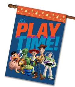 Toy Story Play Time - House Flag - 28'' x 40''