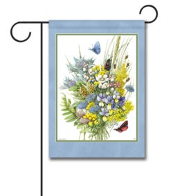 Butterfly Bouquet - Garden Flag - 12.5'' x 18''
