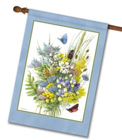 Butterfly Bouquet - House Flag - 28'' x 40''