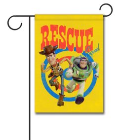 Woody & Buzz Rescue Squad - Garden Flag - 12.5'' x 18''