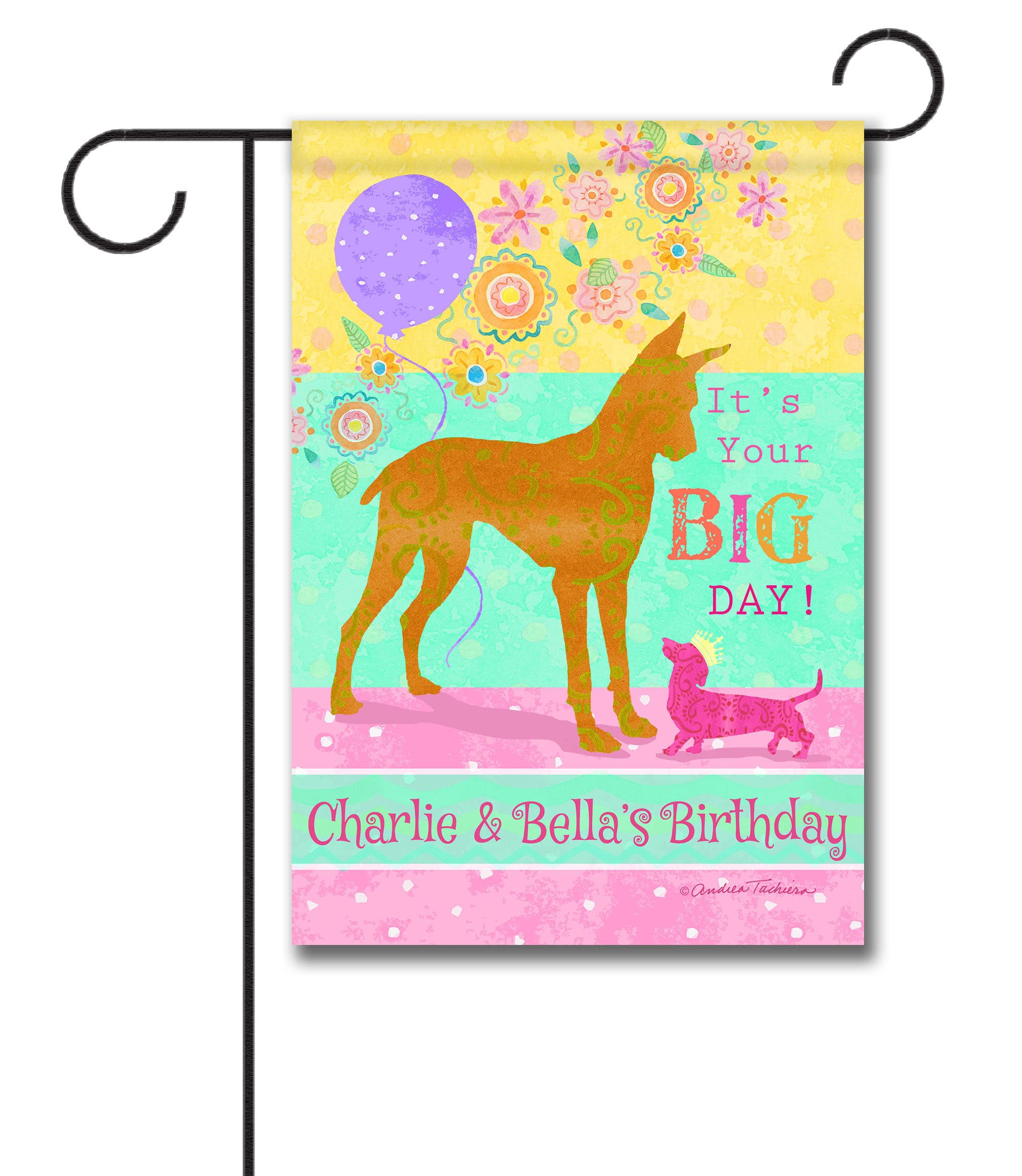 Personalized It's Your Big Day - Garden Flag - 12.5'' x 18''