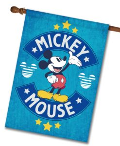 Mickey Mouse House Disney Flag