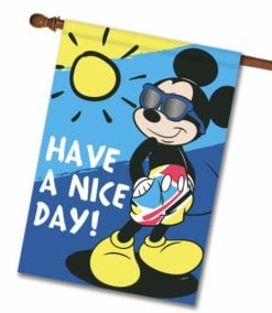 Mickey Mouse Summer House Disney Flag
