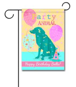 Personalized Party Animal - Garden Flag - 12.5'' x 18''