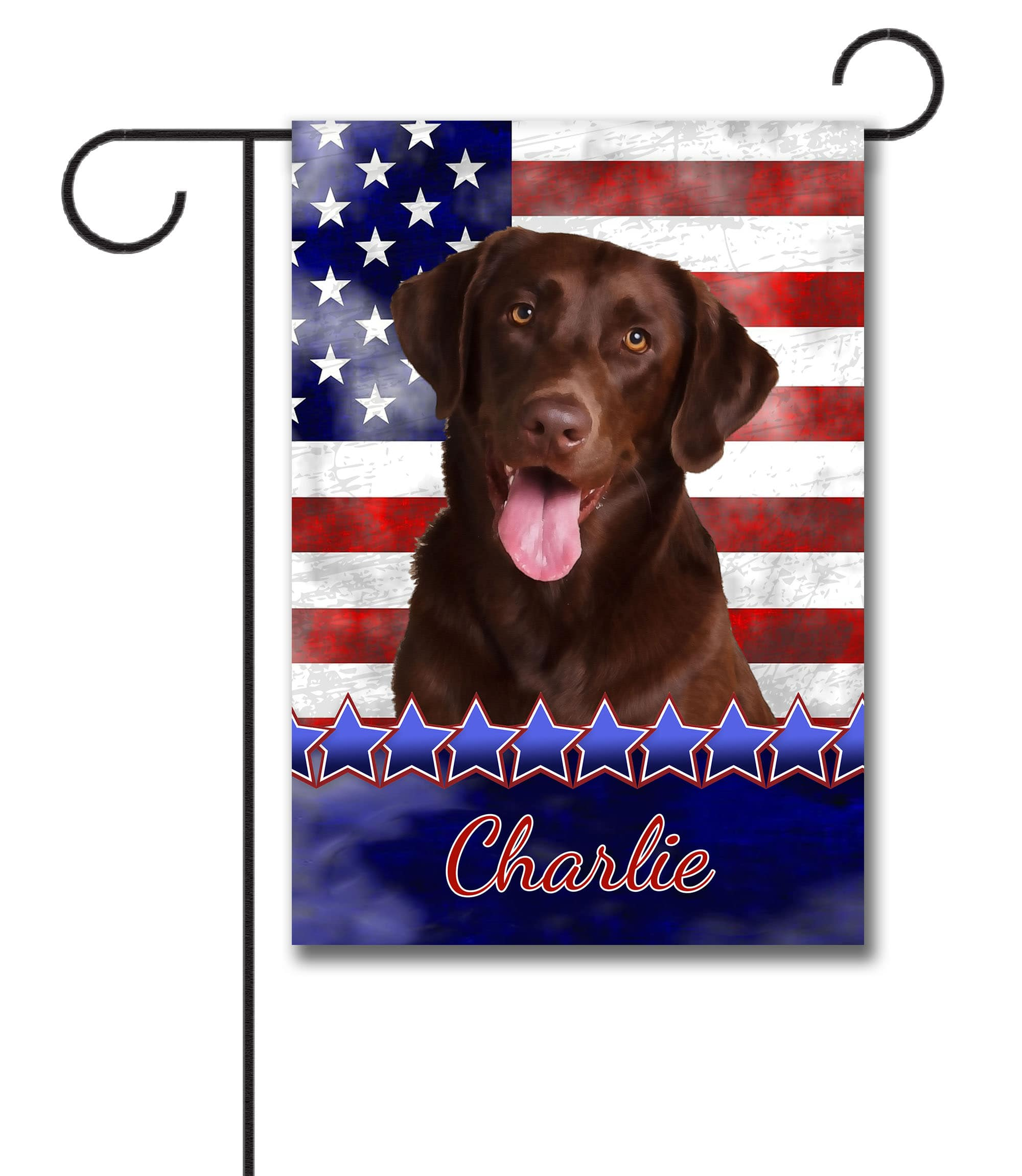 Mailbox Covers Patio Lawn Garden Best Of Breed Chocolate Labrador Patriotic I Dog Breed Mail Box Cover