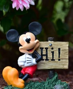 Mickey Mouse Hi Outdoor Disney Garden Statue