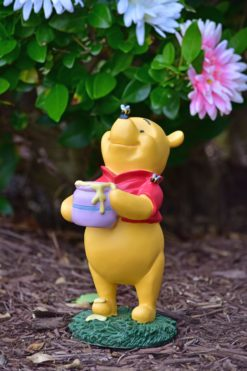 Winnie the Pooh with Honey Pot Outdoor Disney Garden Statue