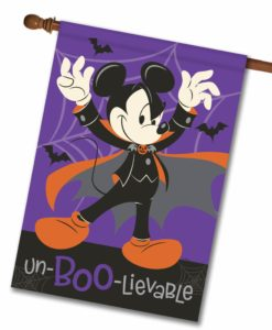 Mickey Mouse Vampire Disney Halloween House Flag