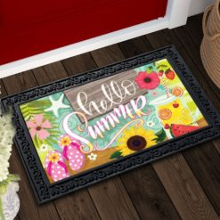 Fruit Picnic Summer Doormat
